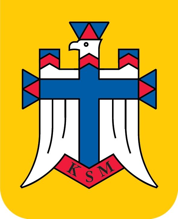 KSM - logo na białym tle