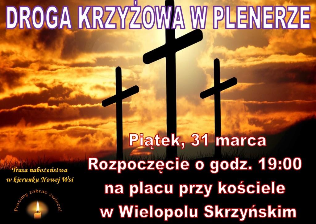 Droga Krzyżowa plener - plakat 2017